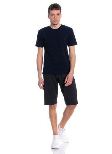 Slazenger Slazenger SUN Erkek T-Shirt  Lacivert